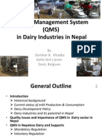 Qms Dairy in Nepal-db Khadka
