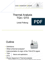 Lectrure Thermal Analysis