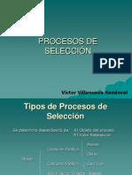 PROSESOS de SELECCIONexposicin Unmsm Derecho v Villanueva