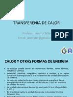 TRANSFERENIA DE CALOR