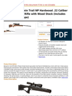 Crosman Benjamin Trail NP Hardwood .22 Caliber Nitro Piston Air Rifle With Wood Stock (Includes 3-9