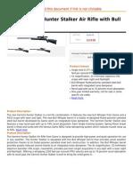 Gamo Varmint Hunter Stalker Air Rifle With Bull Whisper Barrel