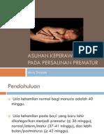 Asuhan Keperawatan Pada Persalinan Prematur