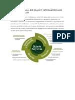 Ciclo de Proyectos BID