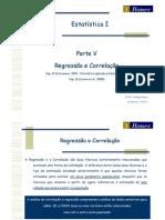 07 Estatística I 2012 1 Economia - Regressão e Correlação