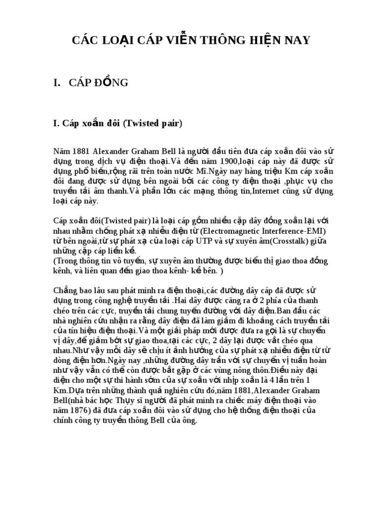 CÁC LOẠI C&#193...
