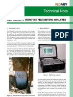 28 Pile Capacity Using the Pile Driving Analyzer (PDA) Vicroads