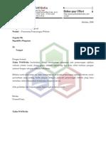 7499708 Proposal Penawaran Barang