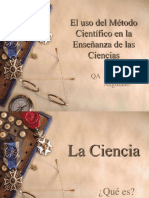 El uso del Método Científico en la Enseñanza