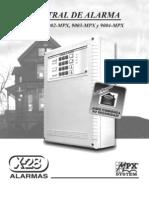 Manual Alarma Local X-28 9002 34