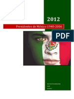 Presidentes de México 1940-2006