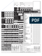 Ghost in the Shell D20 RPG Character Sheet 2.0