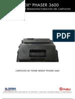 Xerox Phaser 3600 Reman Span