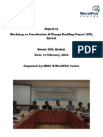 Report on Barisal Workshop