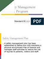 Safety Program Training Module