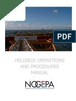 NG14 en 090930 Helideck Procedures Manual Rev1