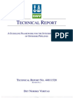 Integrity Assessment of Offshore Pipelines