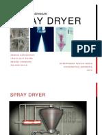 Teknologi Pengeringan_Spray Dryer