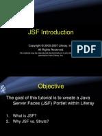 Jsf Portlet Introduction