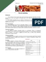 Plan de Marketing - KFC