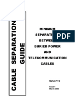 Cable Separations Guide