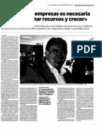 """""""La fusión de empresas es necesaria para aprovechar recursos y crecer"""""""