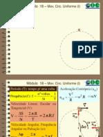 Módulo 18 - Movimento Circular Uniforme (I)