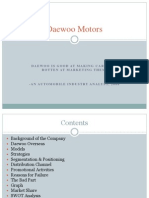 Daewoo Motors PPT