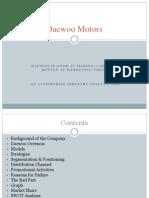 Daewoo Motors PPT
