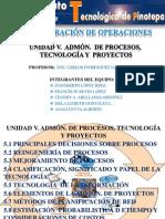 UNIDAD 5- ADMÓN. DE OPERACIONES