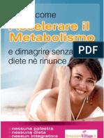 Manuale Accelerare Il Metabolismo