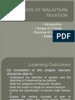 Chapter 1-Basis of Malaysian Taxation