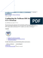 Setting Netbean