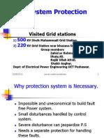 Power System Protection Basics..a Visit to Sheik Muhammadi Grid Peshawar.