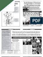 Versión impresa del periódico El mexiquense 31 mayo 2012