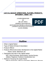 Capital Market Operations