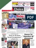 Weekly Choice - May 31, 2012