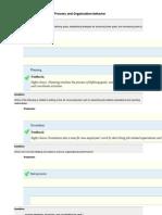 Quiz MB0038 Management Process and Organization Behaviour Final