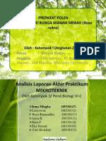 Mikroteknik Bio 6C (Kelompok III)