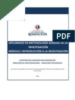 Diplomado en Metodologia General de La Investigacion