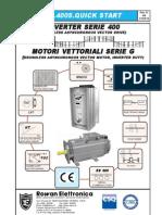 Manu.400S_QUICKSTART_installazione Rapida Inverter Vettoriale 400_rev13