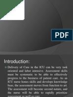 Assessment of ICU Patient