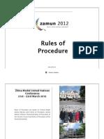 Rules of Procedure