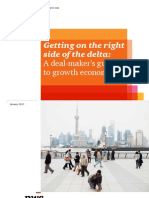 Getting on the Right Side of the Delta- A Deal Makers Guide to Growth Economies