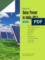 Report Solar Power in India Mar2011