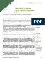 Funciones Ejecutivas y Caracteristicas Estresantes de Ninos Con TDAH