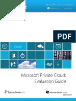 Microsoft Private Cloud Evaluation Guide
