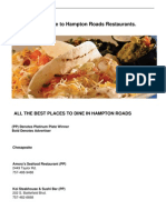 HR Dining Guide