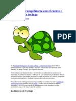 Enseñar a tranquilizarse con el cuento o títere de la tortuga