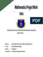 Muzaffar Syah Science Secondary School
